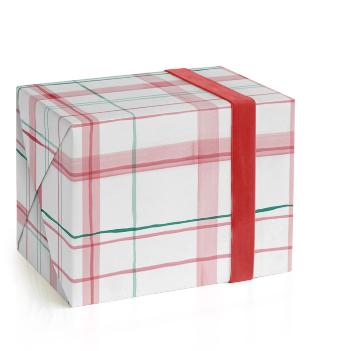 Fun plaid Wrapping Paper