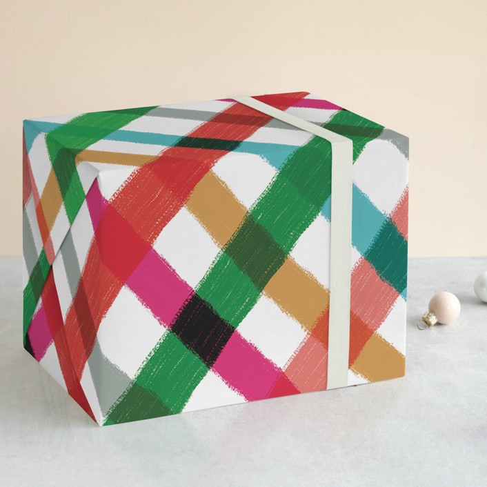 Mochi Wrapping Paper designed by Chocomocacino