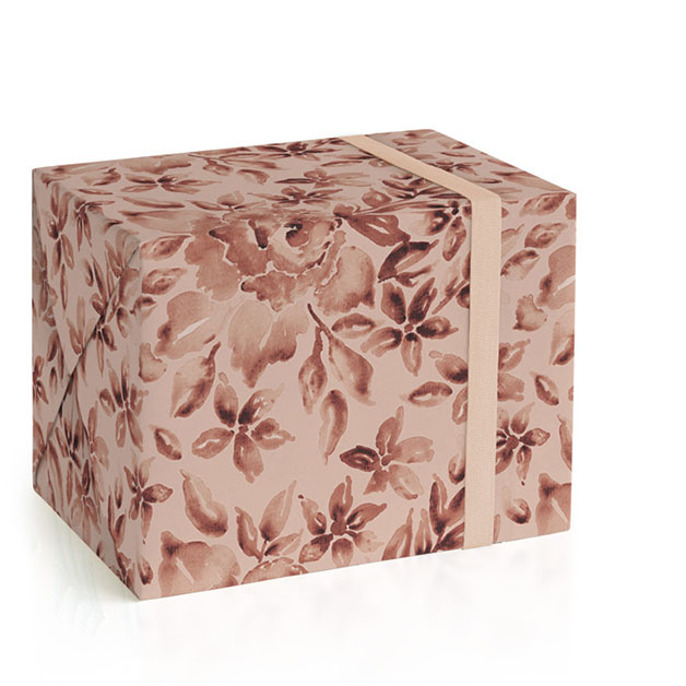 This is a pink wrapping paper by Chris Griffith called Coming up Roses.