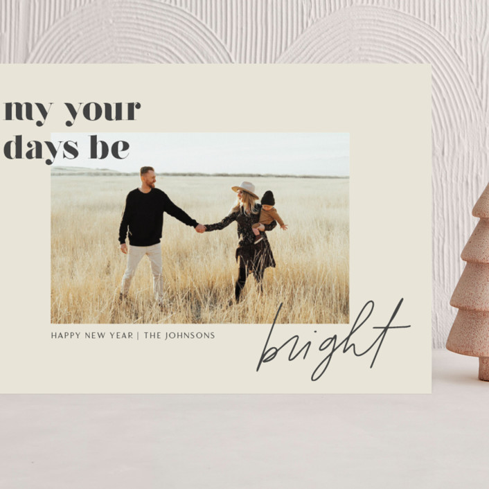 """""""Brighter Days Ahead"""" - Grand Holiday Cards in Mist by seulghi."""