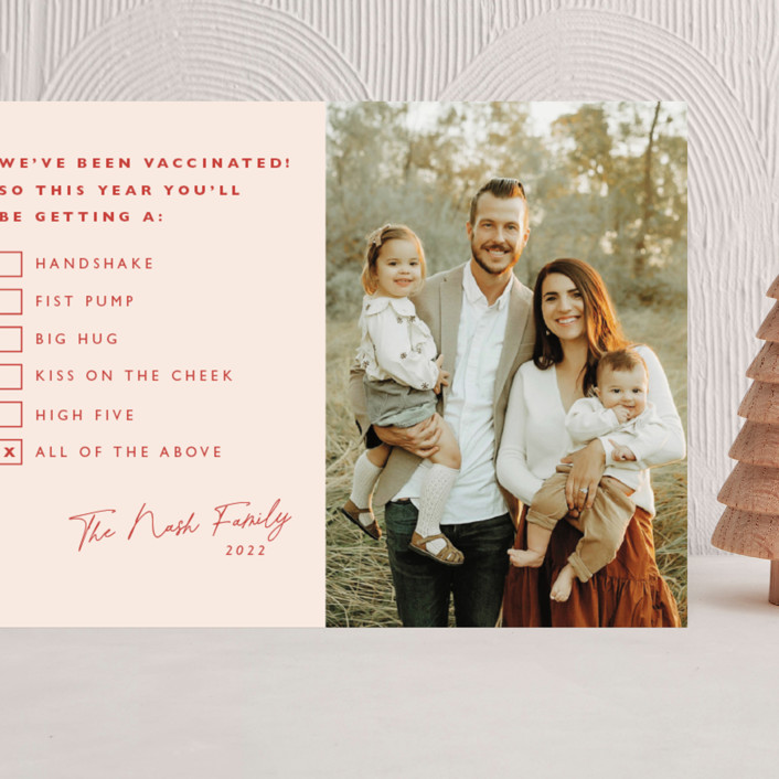 """""""All of the Above"""" - Funny Grand Holiday Cards in Candy by Caitlin Considine."""