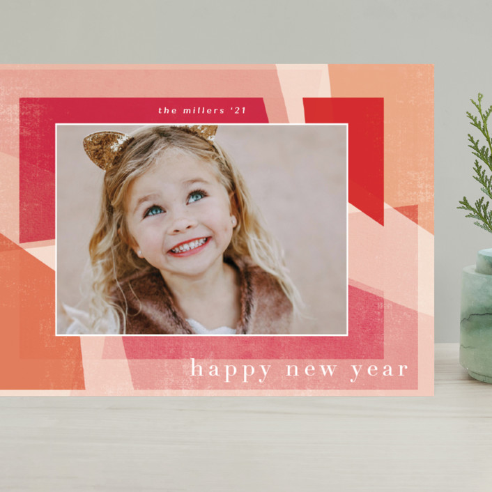 """""""Fractal"""" - Grand Holiday Cards in Mixed Berry by Grace Kreinbrink."""