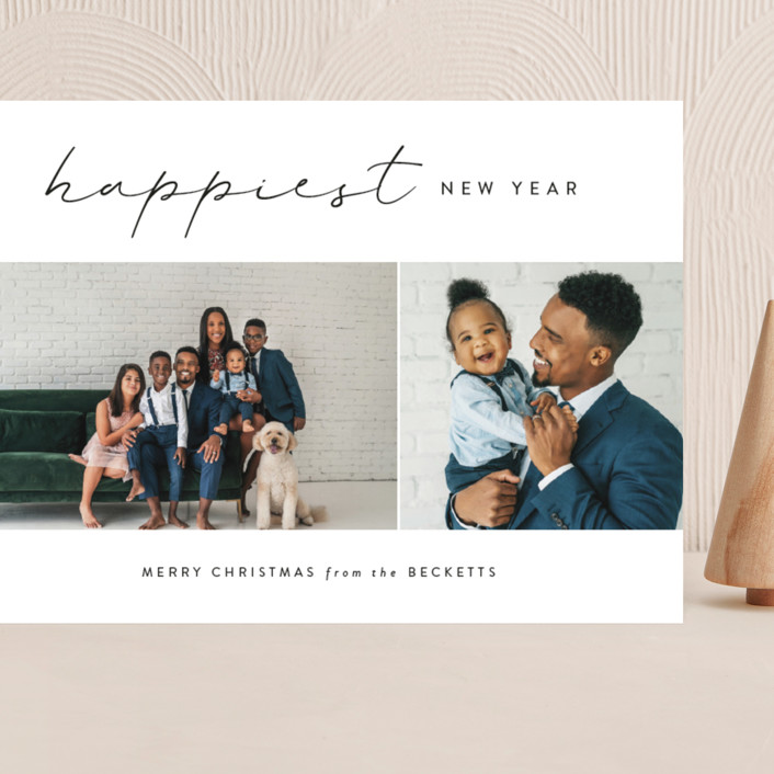 """""""Adored"""" - Grand Holiday Cards in Onyx by Kasia Labocki."""