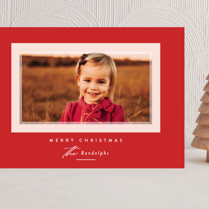"""""""Prism"""" - Grand Holiday Cards in Holly Berry by Jessica Williams."""