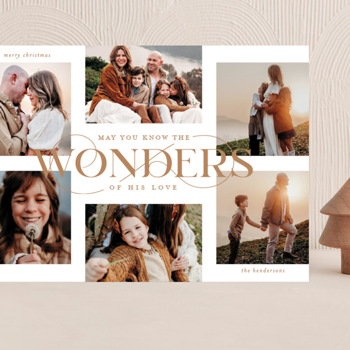 """""""Glorious Wonders"""" - Grand Holiday Cards in Antique by Lauren Chism."""