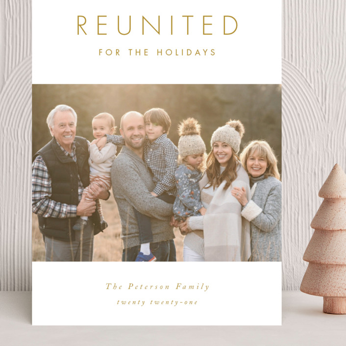 """""""Reunited"""" - Grand Holiday Cards in Snow by Catherine Culvenor."""