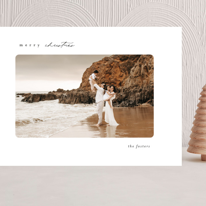 """""""Simple"""" - Grand Holiday Cards in Ink by Brianne Larsen."""
