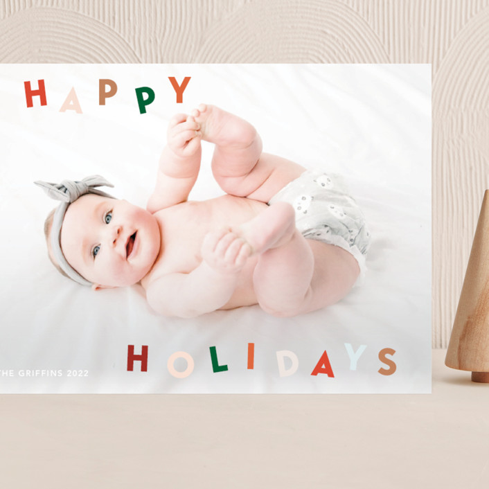 """""""Dancing holidays"""" - Grand Holiday Cards in Candy by Yaling Hou Suzuki."""