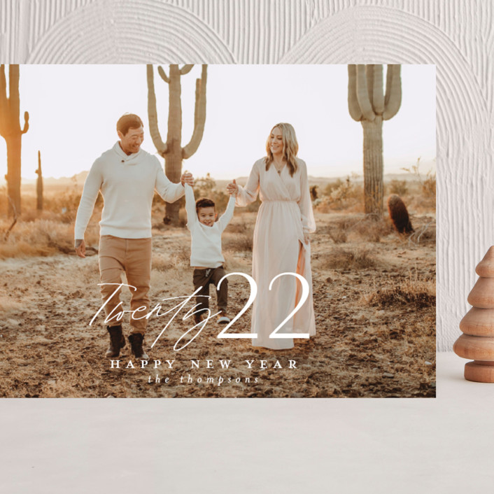 """""""Meza"""" - Grand Holiday Cards in Cloud by Ashlee Townsend."""