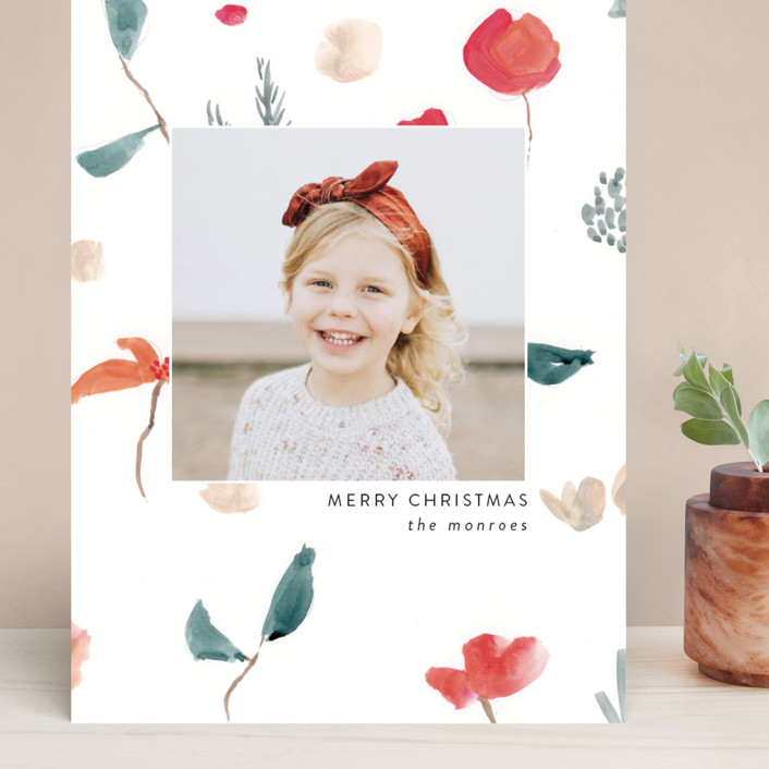 """""""Christmas Sketch"""" - Grand Holiday Cards in Snow by Lindsay Megahed."""