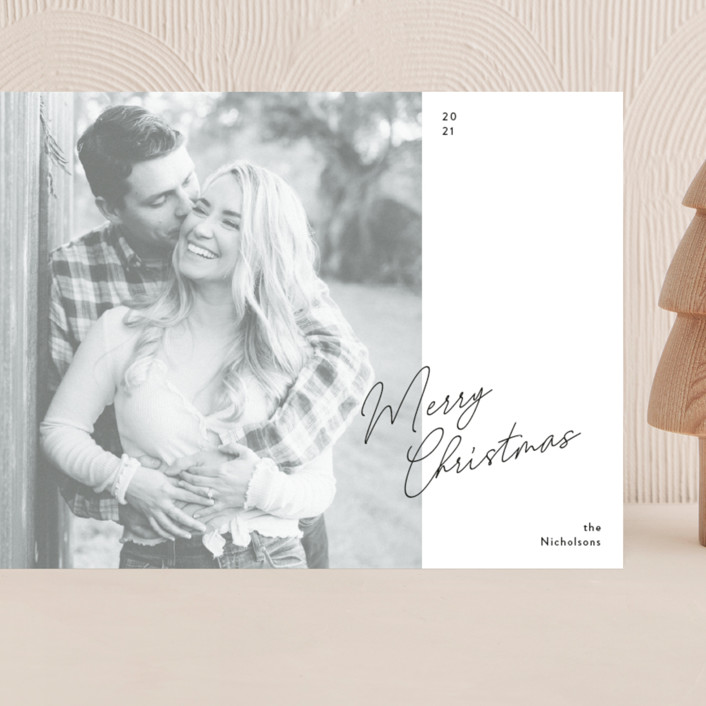 """""""Simple Edit"""" - Grand Holiday Cards in Ink by Dozi."""