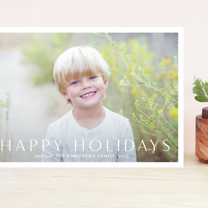 """""""Simply"""" - Grand Holiday Cards in Snowflake by Jessica Williams."""
