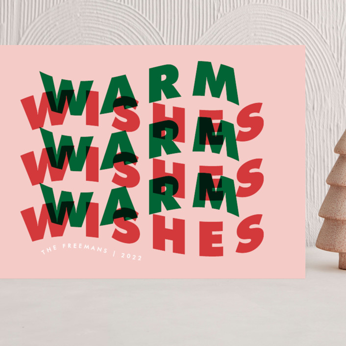 """""""Warm Wave"""" - Grand Holiday Cards in Gumdrop by Catherine Culvenor."""