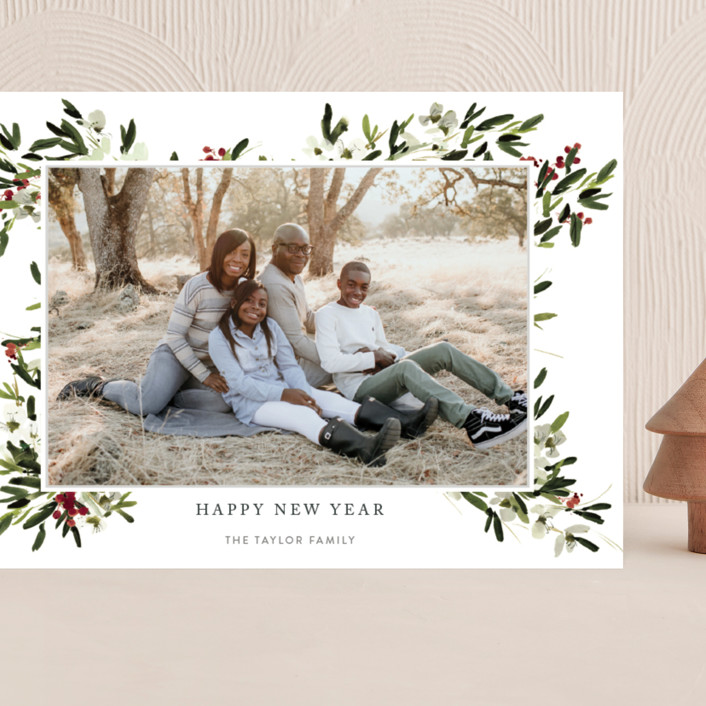 """winter bliss"" - Grand Holiday Cards in Snow by Kelly Ventura."