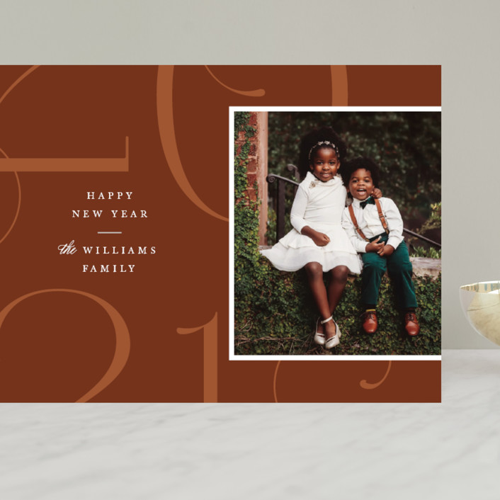 """""""Park Place"""" - Grand Holiday Cards in Toffee by Robert and Stella."""