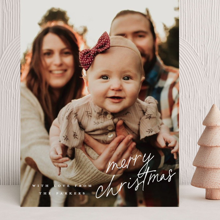 """""""Signature Season"""" - Grand Holiday Cards in Snowflake by Jessica Williams."""