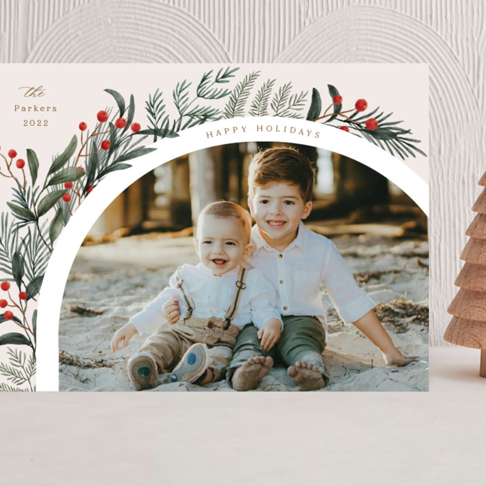 """""""Lush Arch"""" - Grand Holiday Cards in Garden by Elly."""