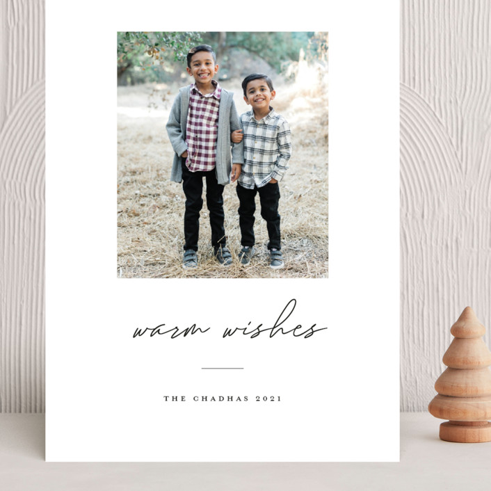 """""""warmwishes"""" - Grand Holiday Cards in Stocking by Bethany McDonald."""