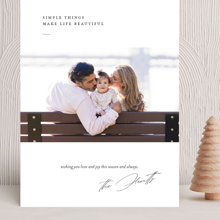 """""""life is beautiful"""" - Grand Holiday Cards in Winter by Eric Clegg."""