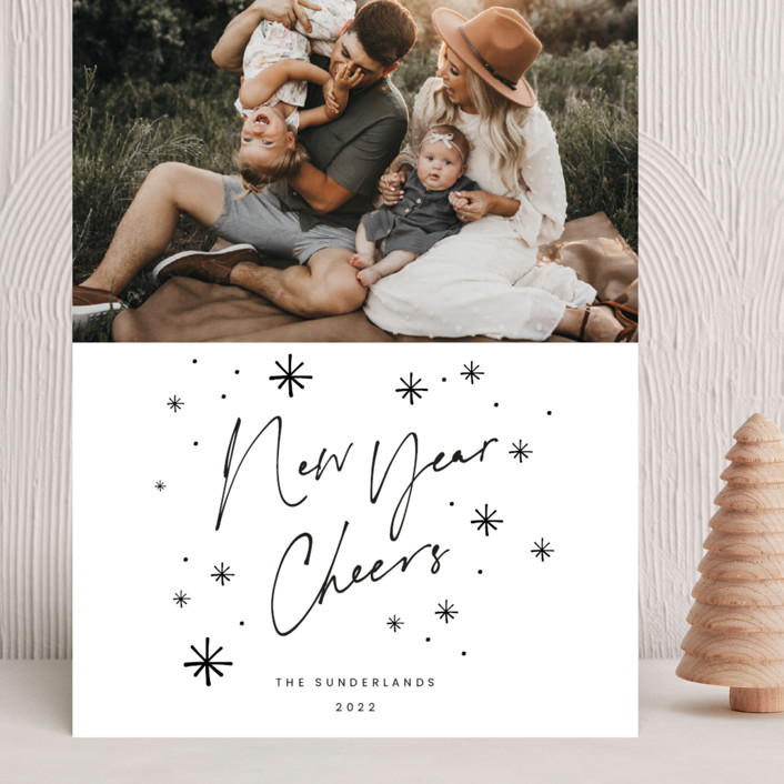 """""""Snaps"""" - Grand Holiday Cards in Ink by Blustery August."""