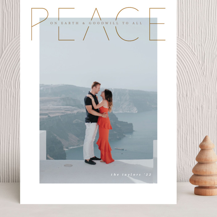 """""""Peace is good"""" - Grand Holiday Cards in Halo by Kann Orasie."""