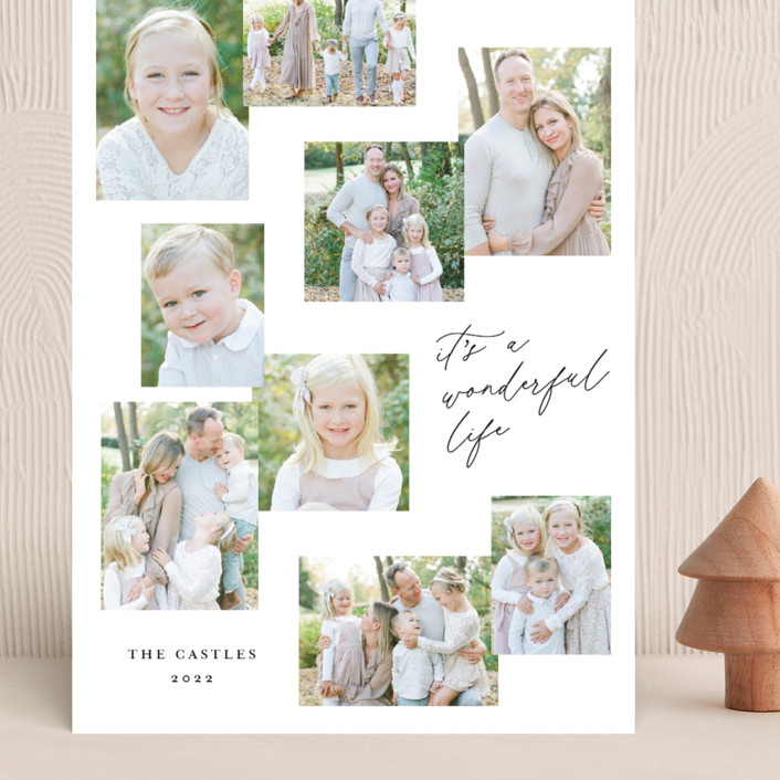 """""""Snapshots"""" - Grand Holiday Cards in Wonderful by Erin German."""