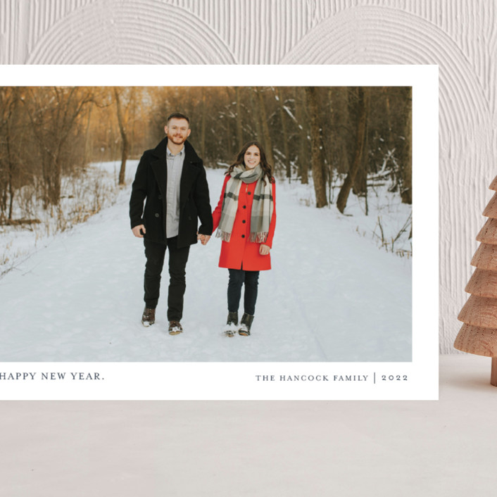 """""""Tiny Blessings"""" - Grand Holiday Cards in Blueberry Pie by That Girl Press."""