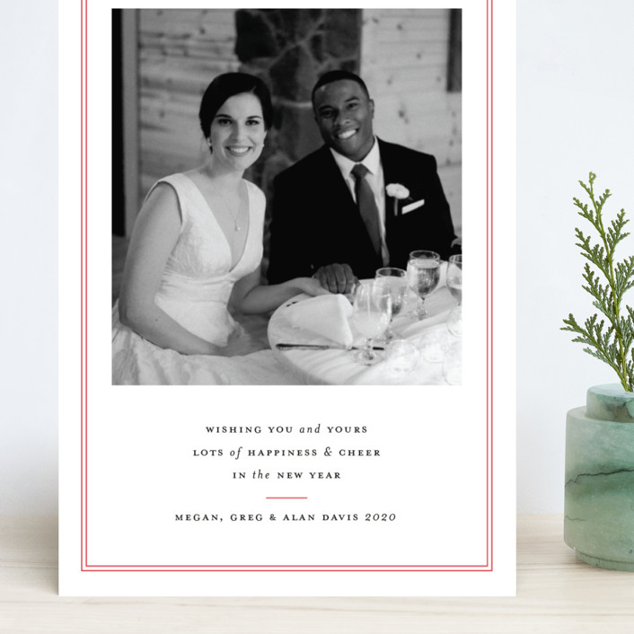 """""""Pure Joy"""" - Grand Holiday Cards in Stocking by Toast & Laurel."""
