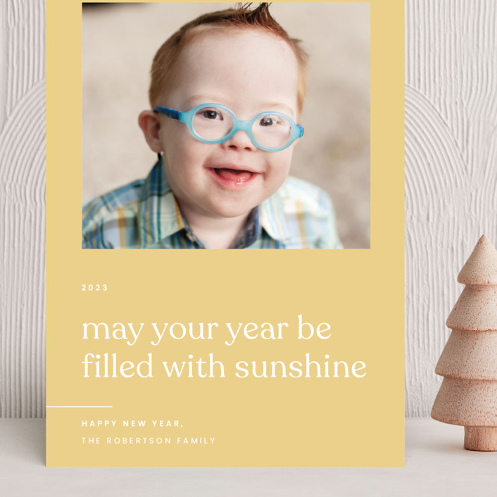 """""""Sunshine"""" - Grand Holiday Cards in Sunlight by Blustery August."""