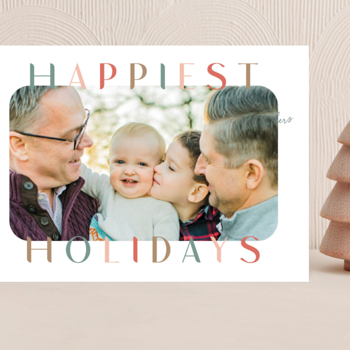 """""""Round and Round"""" - Grand Holiday Cards in Antique by Lauren Chism."""