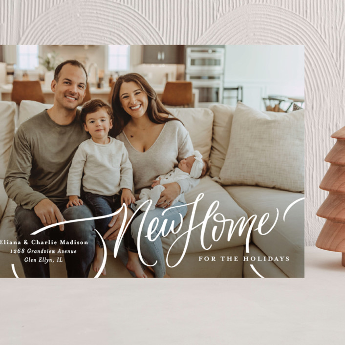 """""""A New Home for the Holidays"""" - Grand Holiday Cards in Cozy by Erin German."""
