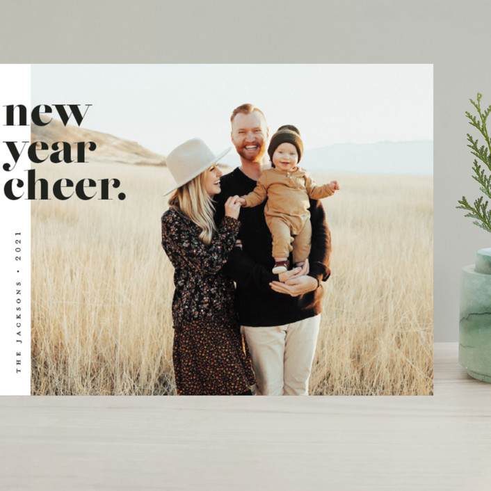 """""""the edit"""" - Grand Holiday Cards in Polar Bear by Pink House Press."""