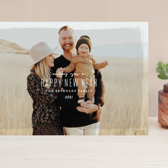 """Heirloom Holiday"" - Grand Holiday Cards in Desert by Melissa Egan of Pistols."
