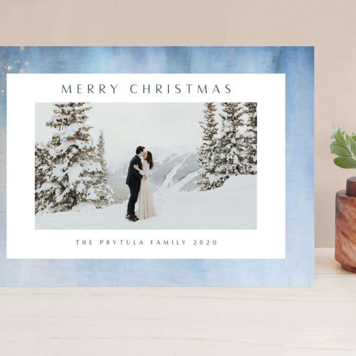 """""""Frosted"""" - Grand Holiday Cards in Sky by Nicole Walsh."""