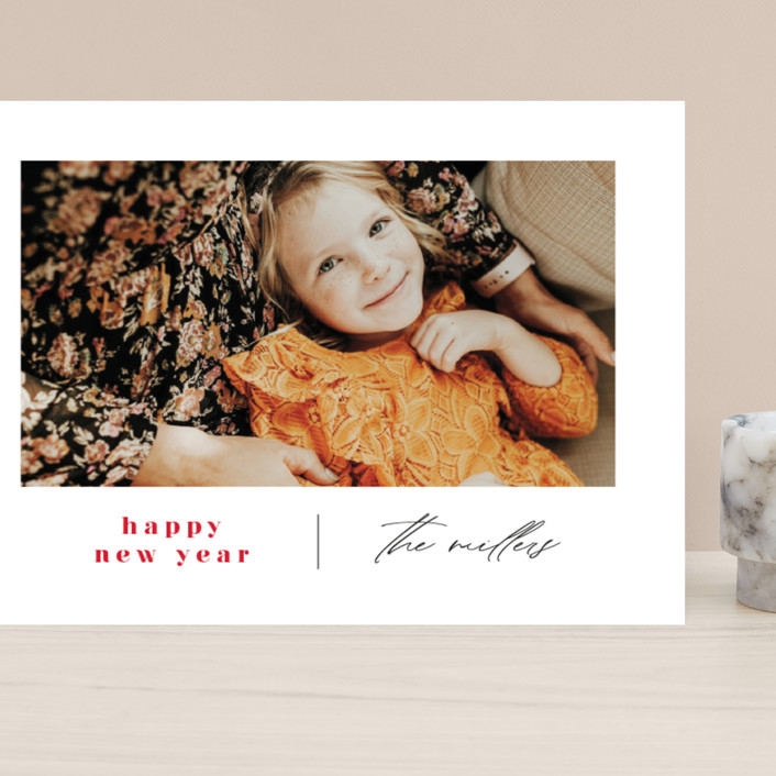 """""""Modern Days"""" - Grand Holiday Cards in Maple Leaf by Ana Sharpe."""