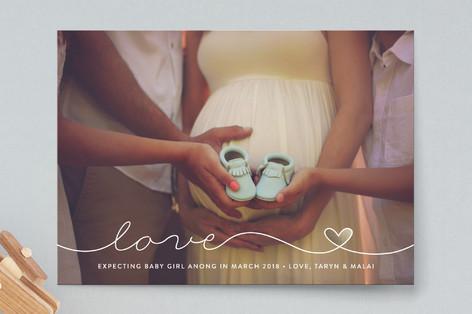 Scripted Love Pregnancy Announcements