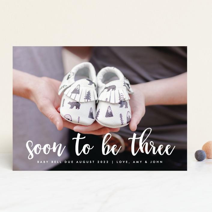 Soon to Be Three by Ashley Rosenbaum