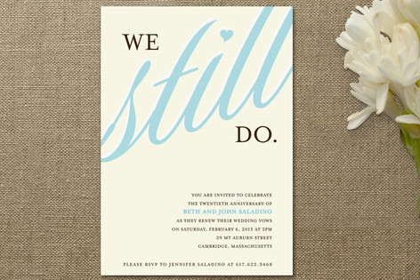 We still do anniversary party invitations by lette minted we still do anniversary party invitations stopboris Gallery