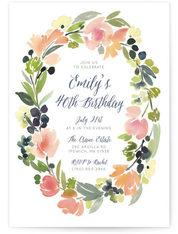 party invitations minted