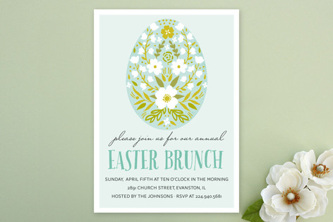 Easter Fun Party Invitations