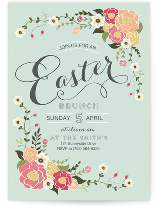 Easter Party Invitations Party Decor Minted