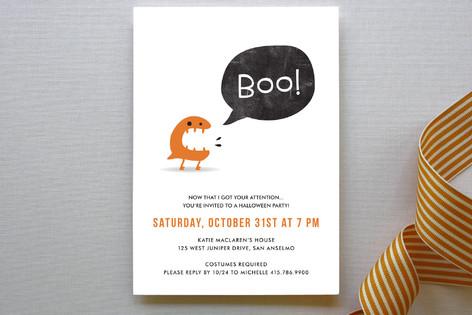 BOO! Party Invitations