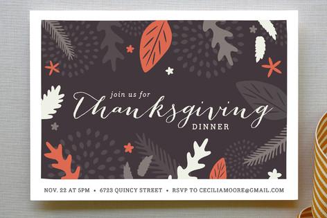Festive Fall Party Invitations