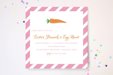 Easter Prep Party Invitations