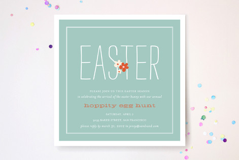 Spring Fling Party Invitations