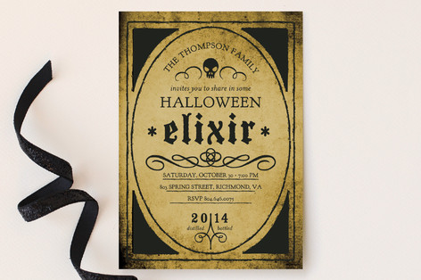 Elixir Party Invitations