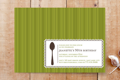 Party Label Party Invitations