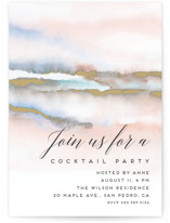 This is a pink party invitation by Petra Kern called Hidden Gem with standard printing on signature in standard.