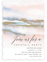 This is a pink party invitation by Petra Kern called Hidden Gem printing on signature.