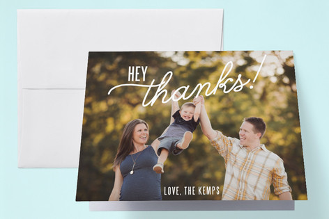 Hey Baby! Pregnancy Announcements Thank You Cards